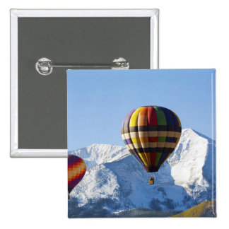 Noth America, USA, Colorado, Mt. Crested Butte, Pinback Button