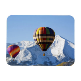 Noth America, USA, Colorado, Mt. Crested Butte, Rectangular Photo Magnet
