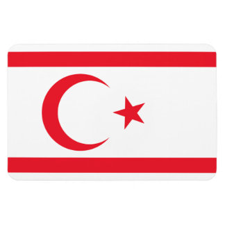 Nothern Cyprus Flag Magnet