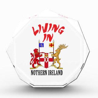Nothern Ireland coat of arms Acrylic Award