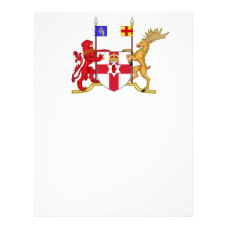 """Nothern Ireland coat of arms 8.5"""" X 11"""" Flyer"""