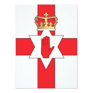 Nothern Ireland flag Card
