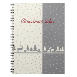 Nothern land - Christmas cards & more Notebook