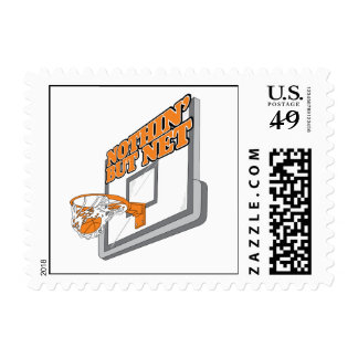 nothin but net basketball design stamps