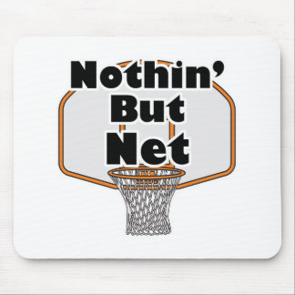 nothin but net basketball hoop mouse pad