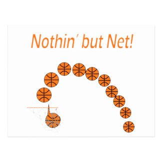 Nothin' But Net Postcard