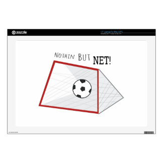 "Nothin But Net 17"" Laptop Decal"