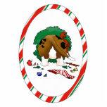 Nothin' Butt A Basset Christmas Ornament Photo Sculpture