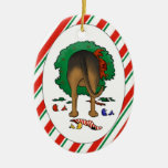 Nothin' Butt A Bloodhound Christmas Ornament