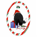 Nothin' Butt A Border Collie Christmas Ornament Photo Cutouts