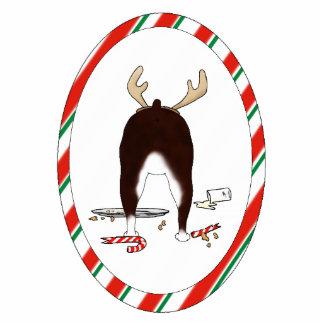 Nothin' Butt A Boston Terrier Christmas Ornament Photo Sculptures