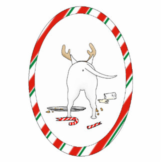 Nothin' Butt A Bull Terrier Christmas Ornament Photo Sculpture Ornament
