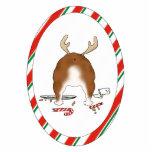 Nothin' Butt A Bulldog Christmas Ornament Photo Sculpture