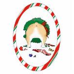 Nothin' Butt A Bulldog Christmas Ornament Acrylic Cut Out