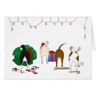 Nothin' Butt A Chihuahua Christmas Card