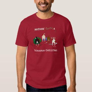 Nothin' Butt A Chihuahua Christmas T-Shirt