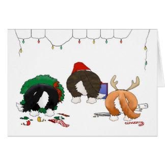 Nothin' Butt A Corgi Christmas Card