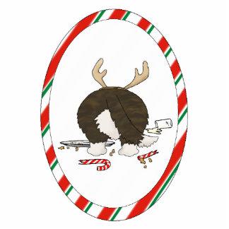 Nothin' Butt A Corgi Christmas Ornament