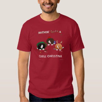 Nothin' Butt A Corgi Christmas T-Shirt