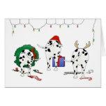 Nothin' Butt A Dalmatian Christmas Cards