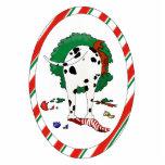 Nothin' Butt A Dalmatian Christmas Ornament Cut Out