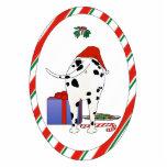 Nothin' Butt A Dalmatian Christmas Ornament Photo Cut Outs