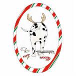 Nothin' Butt A Dalmatian Christmas Ornament Photo Sculpture