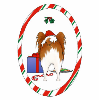 Nothin' Butt A Papillon Christmas Ornament
