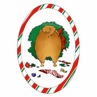 Nothin' Butt A Pomeranian Christmas Photo Statuette