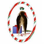 Nothin' Butt A Shiba Inu Christmas Ornament Photo Sculpture