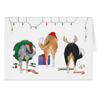 Nothin' Butt A Smoothie Christmas Card