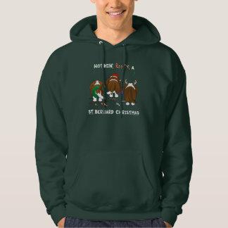 Nothin' Butt A St. Bernard Christmas Hoodie