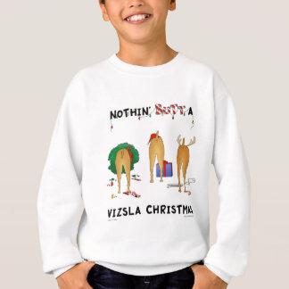 Nothin' Butt A Vizsla Christmas Sweatshirt