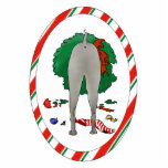 Nothin' Butt A Weimaraner Christmas Ornament Photo Cut Outs
