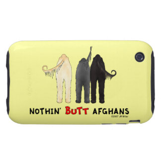 Nothin' Butt Afghans Tough iPhone 3 Case