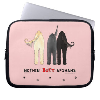 Nothin' Butt Afghans Computer Sleeve