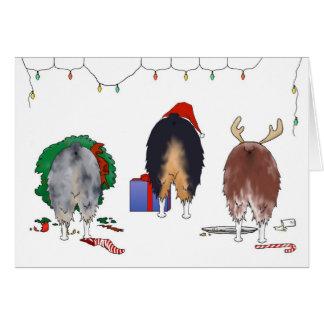 Nothin' Butt An Aussie Christmas Greeting Card