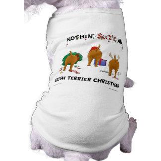 Nothin' Butt An Irish Terrier Christmas Dog Shirt