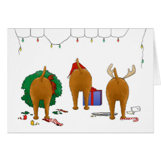 Nothin' Butt An Irish Terrier Christmas Greeting Card