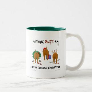 Nothin' Butt An Irish Terrier Christmas Mug