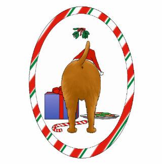 Nothin' Butt An Irish Terrier Christmas Ornament Photo Sculpture Ornament