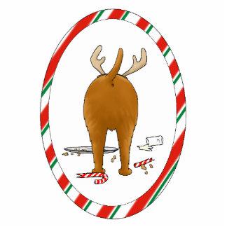 Nothin' Butt An Irish Terrier Christmas Ornament Photo Cutout
