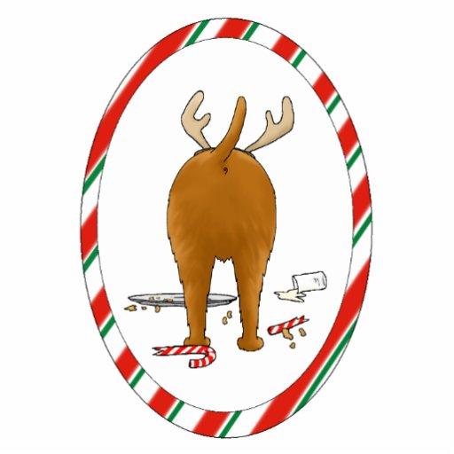 Nothin Butt An Irish Terrier Christmas Ornament Photo