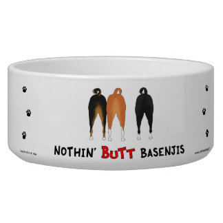 Nothin' Butt Basenjis Bowl