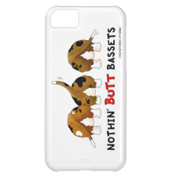 Case-Mate Barely There iPhone 5C Case with Basset Hound Phone Cases design