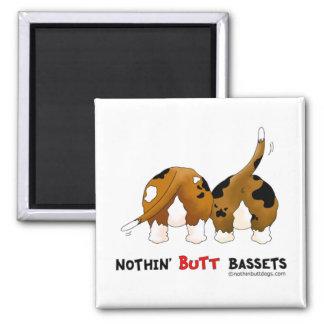 Nothin' Butt Bassets Magnet