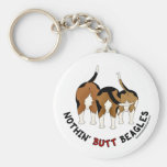 Nothin' Butt Beagles Key Chain