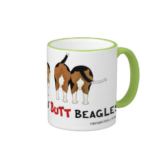 Nothin' Butt Beagles Coffee Mug