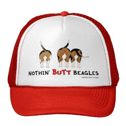 Nothin' Butt Beagles Trucker Hats