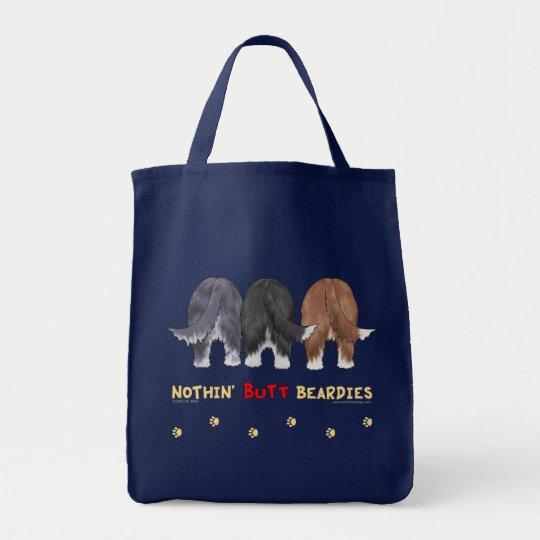 Nothin' Butt Beardies Tote Bag